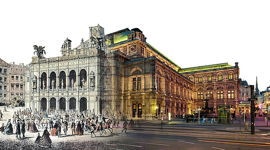 Collage: Wiener Staatsoper
